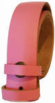 30mm Pink Snap Fit Leather Belt
